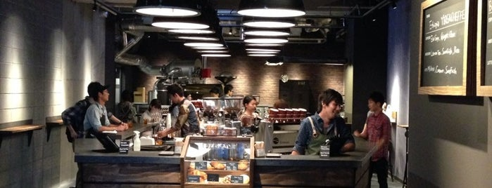 The Roastery by Nozy Coffee is one of Tokyo Musts.