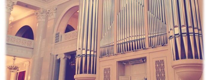 Филармония им. Д. Д. Шостаковича. Большой зал is one of Познавательный Петербург.