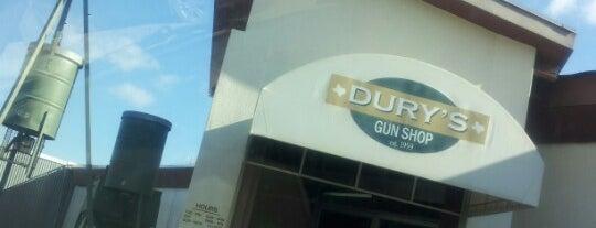 Dury's Gun Shop is one of สถานที่ที่ Deanne ถูกใจ.