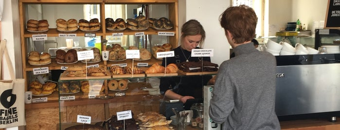 Fine Bagels is one of Berlin Best: Desserts & bakeries.