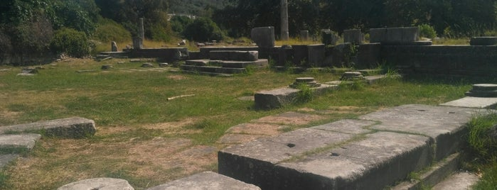 Ancient Agora is one of Thassos 2016.