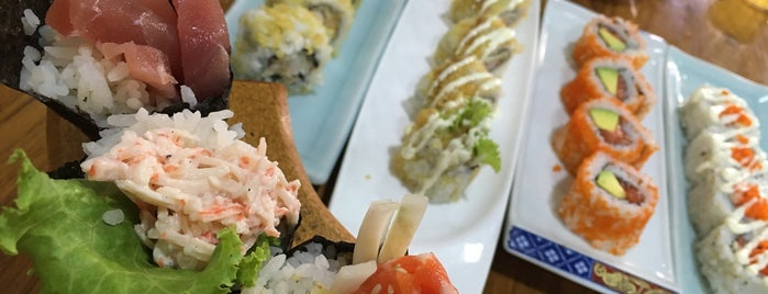 Oishii Sushi is one of Yangon.