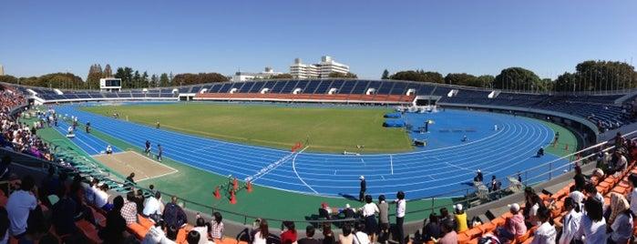 Komazawa Olympic Park is one of せたがや百景 100 famous views of Setagaya.