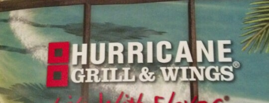 Hurricane Grill & Wings is one of Locais curtidos por Hans.