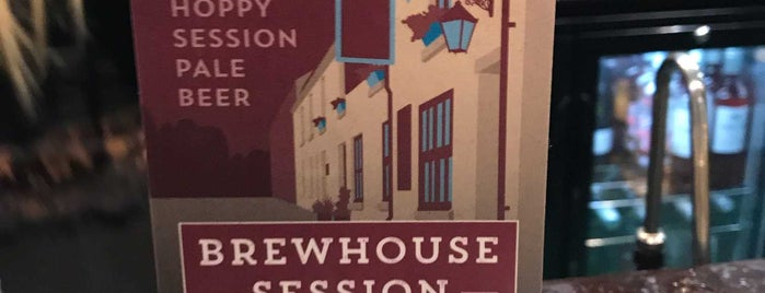 The Brewhouse is one of Required Guide Pubs.