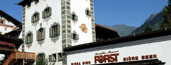 Brauerei/Birreria Forst - Bräustüberl Forst - Braugarten/Giardino Forst is one of Marioさんのお気に入りスポット.
