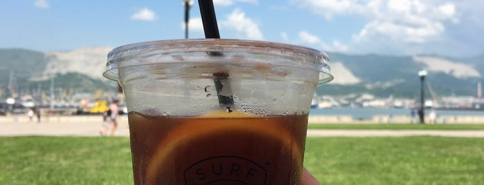 Surf Coffee is one of Novorossiysk.