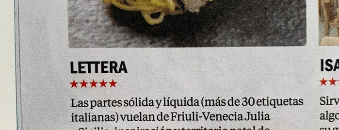 Lettera Trattoria Moderna is one of Autor.