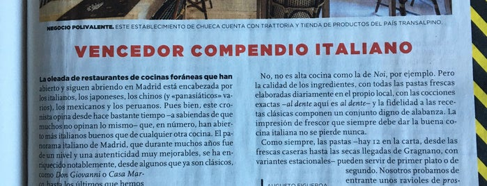 Davantirestaurante is one of Madrid.