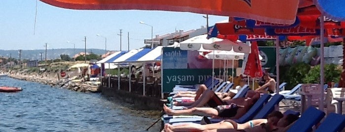 Yetiş Kaptan Cafe & Beach is one of Urla.