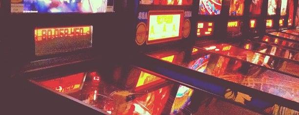 Joystix Classic Games & Pinballs is one of Pinball Destinations.