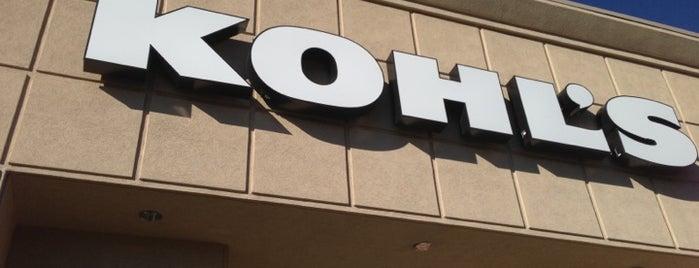 Kohl's is one of Tempat yang Disukai Dawna.