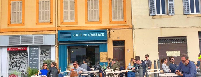 Café de l'Abbaye is one of Marseille mx zero.