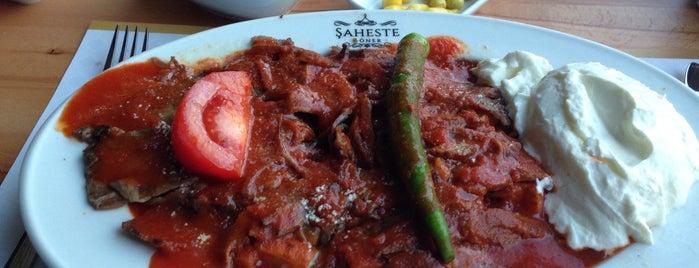 Şaheste Döner is one of Dönerciler, Türk, Ortadoğu ve Balkan mutfakları.