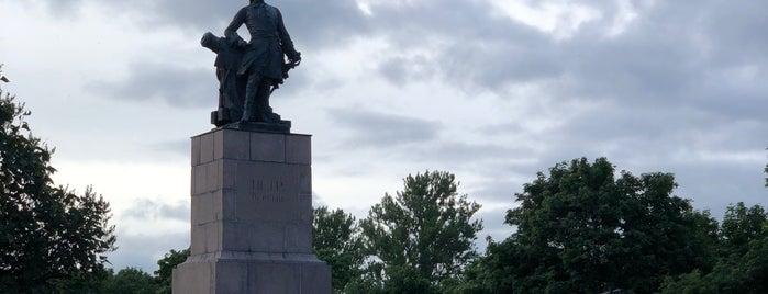 Памятник Петру I is one of Alexandr : понравившиеся места.