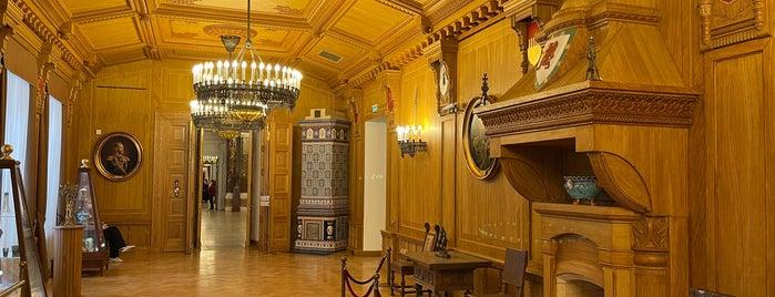 Тверской императорский путевой дворец is one of Тверь.