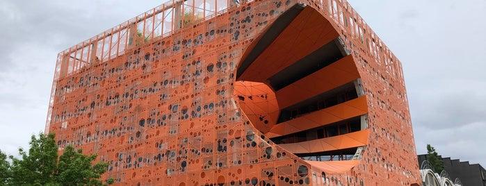 Le Cube Orange is one of France (Paris, Lyon).