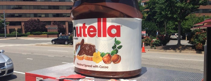 Nutella Sampling Truck is one of Want to try.