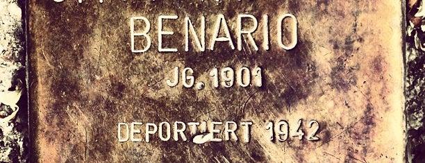 Stolperstein Otto Benario is one of Stolpersteine 1933 - 1945.