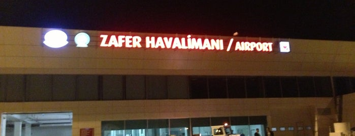 Zafer Havalimanı (KZR) is one of HAVALİMANLARI /  AİRPORTS  All The World.