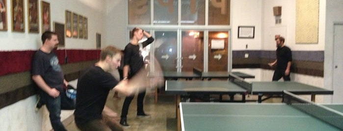 Pips Table Tennis & Art Space is one of USA NYC BK Williamsburg.