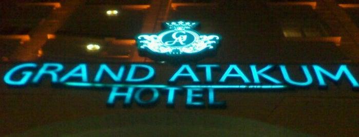 Grand Atakum Hotel is one of Locais curtidos por Burak.