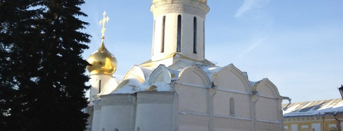 The Holy Trinity-St. Sergius Lavra is one of Russia10.