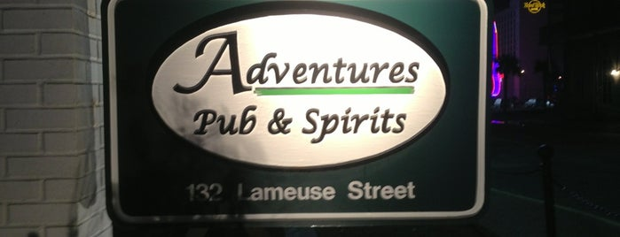 Adventures Pub & Spirits is one of American Travel Bucket List-The South.