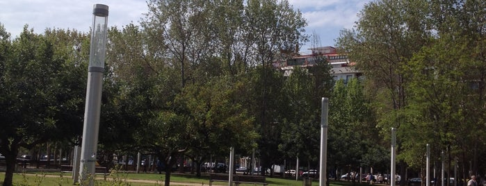 Parc Gandhi is one of Barcelona.