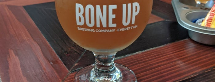 Bone Up Brewing Company is one of Boston/Salem Map.