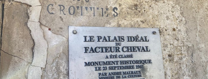 Le Palais Ideal du Facteur Cheval is one of Aus, Bel, Fra, Ger, Ita & Swi.