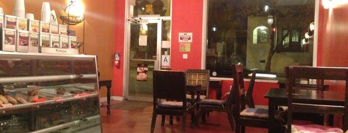 Cafe OM is one of LA Coffee Shops Offering Free Wi-Fi.