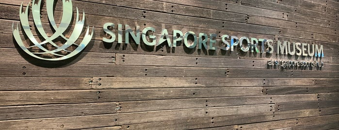 Singapore Sports Museum is one of Top Historical Museums in Singapore.