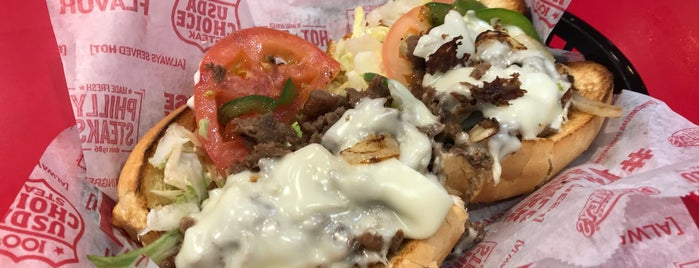Charleys Philly Steaks is one of Locais curtidos por Pedro.