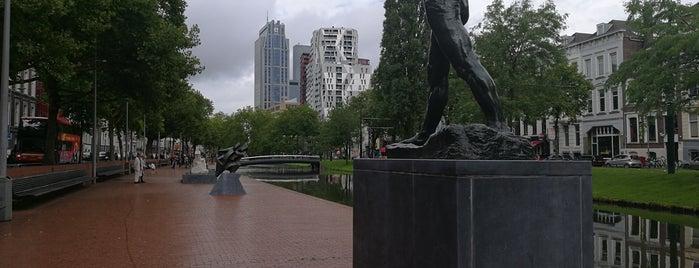 Beeldenroute Westersingel | Internationale Beelden Collectie is one of Rotterdam.