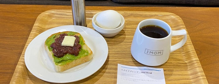 IMOM Coffee Roasters is one of East Nagoya.