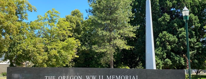 The Oregon World War  2 Memorial is one of Billさんのお気に入りスポット.