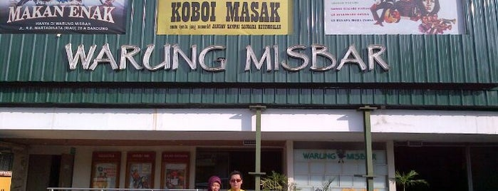 Warung Misbar is one of What happens when food-addict strikes in Bandung.