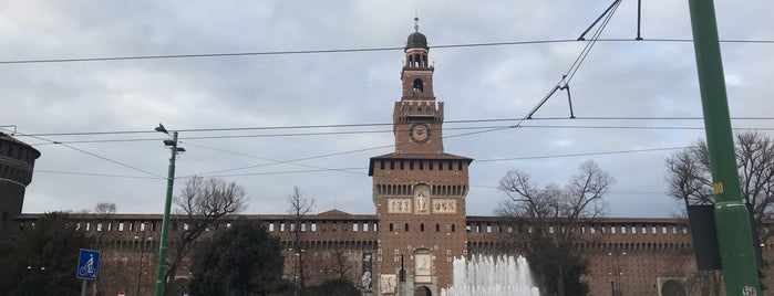 Castillo Sforzesco is one of Lugares favoritos de Kayla.