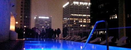 Rooftop Bar at The Standard is one of LA and beach cities as a local.