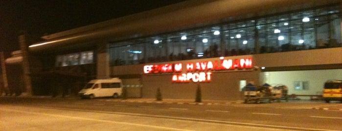 Erzurum Havalimanı (ERZ) is one of Türkiye'deki Havalimanları.