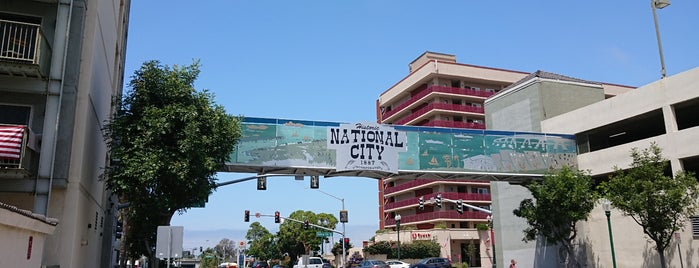 National City, CA is one of Locais curtidos por Sergio M. 🇲🇽🇧🇷🇱🇷.
