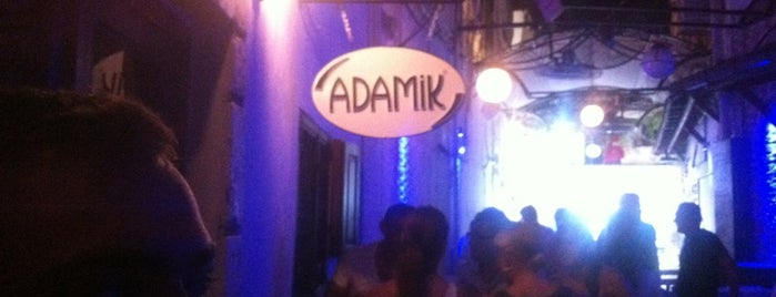 Adamik is one of Bar-Club-Beach Club.