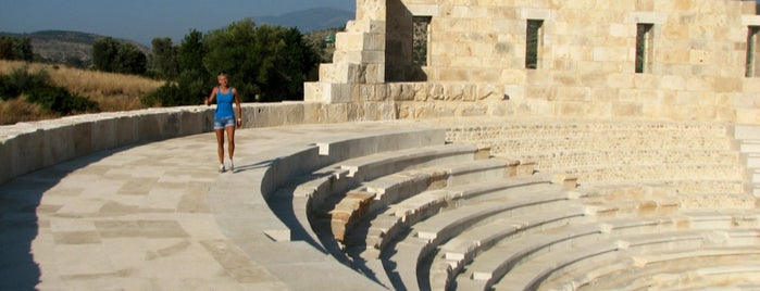 Patara Nekropolis is one of South-West of Turkey.