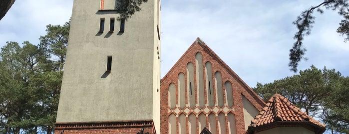 Храм Святого Преподобного Серафима Саровского (Rauschen Kirche) is one of Locais curtidos por Yulia.