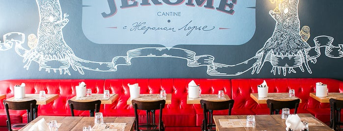 Jérôme is one of Good restaurants (worldwide).