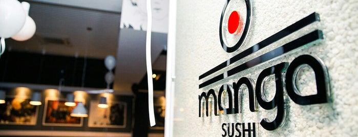 Manga Sushi is one of Orte, die Alima gefallen.