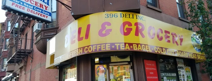 396 Park Slope Deli & Grocery is one of Signage.