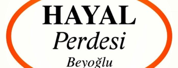 Hayal Perdesi Beyoğlu® is one of İstanbul Tiyatro Mekanları.