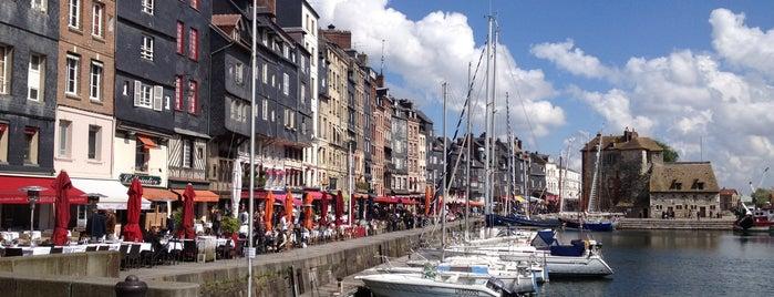 Honfleur is one of Bienvenue en France !.